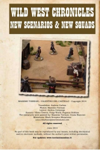 Wild West Chronicles- New Scenarios and New Squads