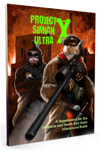 Project Simian Ultra X paperback book